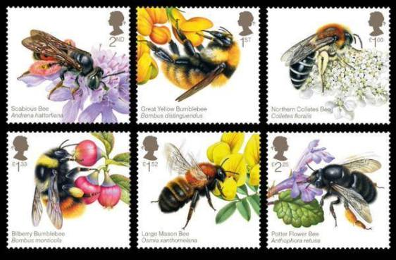 bee stamps